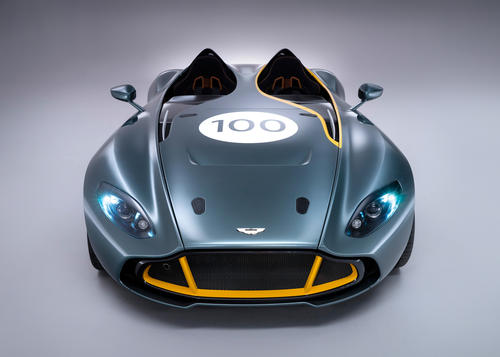This one-off concept car was built by Aston Martin to pay homage to a DBR1 race car that legendary driver Sir Sterling Moss piloted in 1959.
