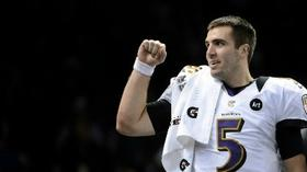 Flacco signs 'r-word' pledge for Special Olympics