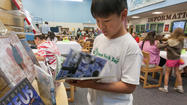 Patuxent Valley Middle School Reader's Cafe [Pictures]