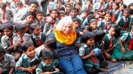 Linda Altizer of Hagerstown visited The Home of the Deaf, Dumb and Blind in Raigarh, India, on a mission trip through Central India Christian Mission that she took in late January and early February.