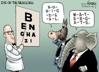 Benghazi, in the eyes of the beholder