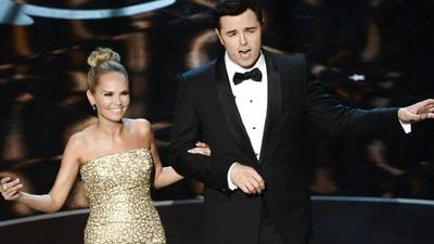 Seth MacFarlane won't host the 2014 Oscars, he says on Twitter