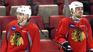 Photos: Blackhawks' morning skate before Game 3