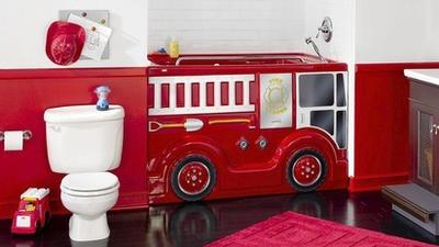Child's bathroom: Whimsical, practical choices
