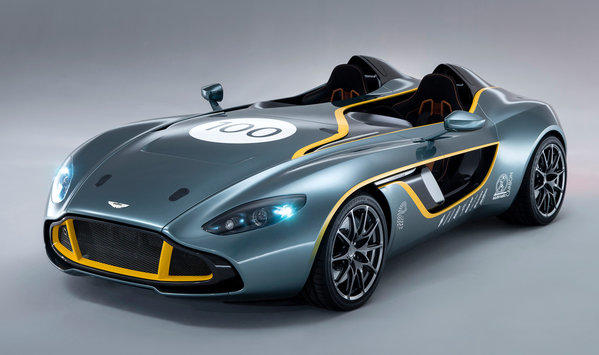 This one-off concept car was built by Aston Martin to pay homage to a DBR1 race car that legendary driver Sterling Moss piloted in 1959.