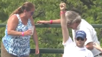 Husband absolves beer-tossing wife at Wrigley