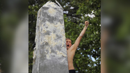 2013 Herndon Monument climb at U.S. Naval Academy [Video]