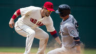 The  Cleveland Indians  walked off in more  dramatic fashion this time.