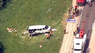 Five killed in church van accident in southern Illinois