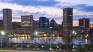 A large group of teenagers were involved in a fight near the Inner Harbor in Baltimore on Monday afternoon, with several of the teens taken into custody, police said.