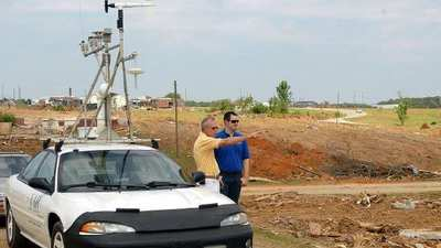 Alabama tornado team scours paths of killer storms