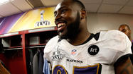 The Ravens have bolstered the talent and depth on their defensive line this offseason with the additions of Chris Canty and Marcus Spears and the selection of big nose tackle Brandon Williams in last month's NFL draft.
