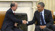 President Obama meets with Myanmar President Thein Sein