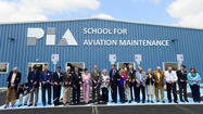 With the national aviation industry experiencing a workforce shortage of aircraft mechanics and technicians, a new Pittsburgh Institute of Aeronautics training facility in Hagerstown might go a long way toward helping train the workers of tomorrow, a school official said  Monday during a ribbon cutting for PIA's new facility.