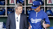 Ned Colletti and Don Mattingly