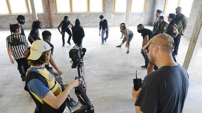 Film producers create movie teaser in Hagerstown to attract production company