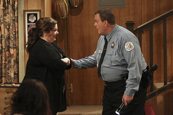 "CBS postponed the season finale of ""Mike & Molly,"" starring Melissa McCarthy and Billy Gardell, which was to air Monday night, after a tornado struck Oklahoma. The episode's plot involves an approaching tornado."