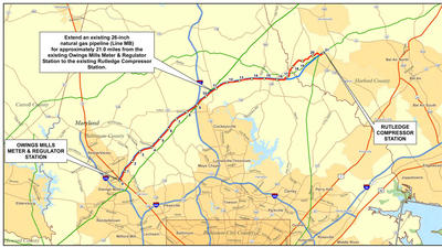 Hearing on controversial parallel gas line through Fallston scheduled for Tuesday