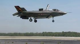 F-35 fighter jet program reaches milestone with vertical takeoff