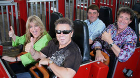 'Brady Bunch' kids reunite to celebrate Kings Island episode
