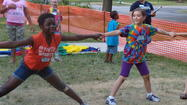 """Kingdom Rock"" Vacation Bible School in Oak Park:  Registration opens Wednesday, May 29 for Good Shepherd Lutheran Church's weeklong Vacation Bible School, which runs from June 17 through 21.  The last day to register is June 9.  The theme this year is ""Kingdom Rock – Where Kids Stand Strong for God.""  Children from 3 years old through outgoing 5th graders will participate in fun Bible-learning activities, sing catchy songs, play teamwork-building games, experience Bible adventures, and test out Sciency-Fun Gizmos they'll take home and play with all summer long.  They will learn to look for evidence of God all around them through something called ""God Sightings.""  The program begins each day with a healthy supper at 5:00pm and concludes at 8:00pm with ""Fanfare Finale,"" a celebration that gets everyone involved in living what they've learned.  Family members and friends are encouraged to join for this special conclusion each day at 7:45pm.  The cost is $30 for one child, $60 for two, and $75 total for 3+ children.  Good Shepherd is located at 611 Randolph Street in Oak Park.  For more information, contact Debbie Rank at 708-848-4741 or christianed@goodshepherdlc.org.  Parents may register online at www.goodshepherdlc.org or by contacting Debbie directly."
