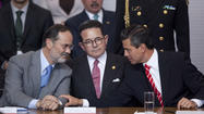 MEXICO CITY -- A dramatic rupture in Mexico's main opposition political party has aired the group's dirty laundry and also could trip up President Enrique Peña Nieto's ambitious agenda of reform.