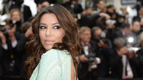 Eva Longoria has yet another wardrobe malfunction in Cannes