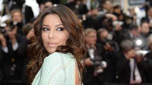 Eva Longoria has yet another wardrobe malfunction in Cannes