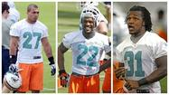 The Dolphins' defensive backs know the regular-season schedule.