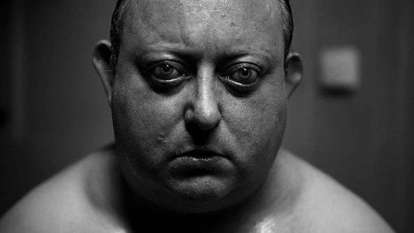 "Laurence R. Harvey plays Martin, a mentally disturbed loner, in ""The Human Centipede II."" A third installment of the horror series is being filmed in Los Angeles."
