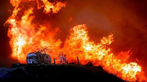 The 2007 Malibu fire.