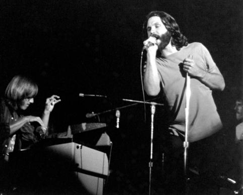 The Doors perform at the San Diego Sports Arena on Aug. 22, 1970.