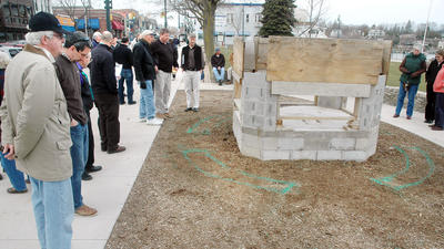 Charlevoix fireplace project flames out