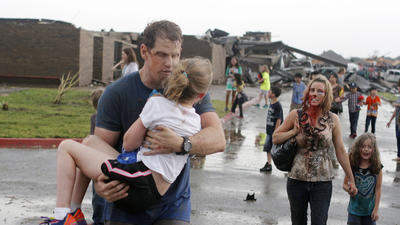 'Our hearts are broken,' Oklahoma governor says of trapped kids