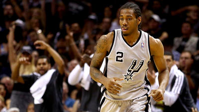 Those looking the other way miss a lot with Spurs' Kawhi Leonard