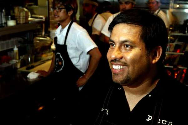 "Chef Ricardo Zarate of Picca and Mo-Chica will cook at the ""Mezcal at Dusk"" charity event, along with Duff Goldman."