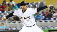 Sanabia snaps five-start skid as Marlins nip Phillies