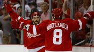 Red Wings, Ducks, Pavel Datsyuk, Justin Abdelkader