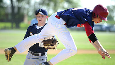 Prep Baseball: Heritage seniors steal show in MDCC final