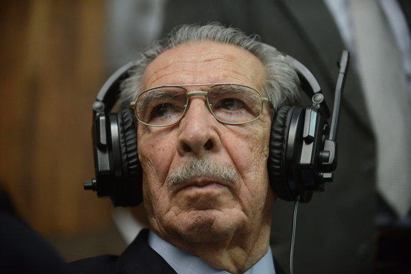 Former Guatemalan military dictator Efrain Rios Montt was found guilty of genocide and crimes against humanity May 10.