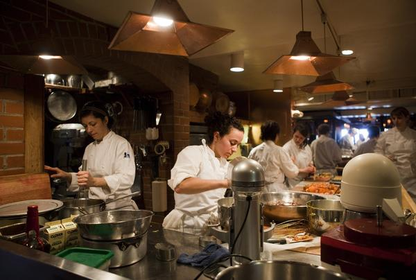 A 2010 photo shows Chez Panisse before its recent fire.