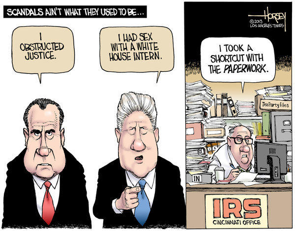 "IRS tea party ""scandal"" does not live up to the name"