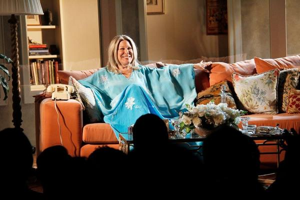 "Bette Midler in ""I'll Eat You Last: A Chat With Sue Mengers"" on Broadway."