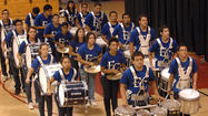 IMPERIAL — Local elementary and high school drumlines tapped, shuffled and glowed to the delight of dozens of community members at this year's Drumline Festival at the local high school gymnasium here Monday.