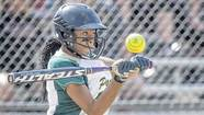 Washington's Paige Douglas swings at a pitch against Mishawaka during their Class 4-A sectional game Monday in South Bend.