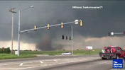 Eye witness video of Moore tornado [Video]
