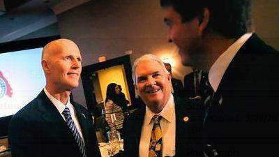 In Broward, Scott tries to rally Republican faithful