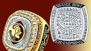 FSU to receive these rings for winning Orange Bowl, ACC | <b>Video</b>