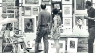 Retro photos from the Baltimore Outdoor Art Festival