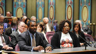 SPRINGFIELD – State Senator Napoleon Harris (D-Flossmoor) celebrated as his proposal that requires schools to offer catastrophic insurance coverage for student athletes passed the Illinois House on Monday.